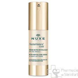 NUXE NUXURIANCE GOLD SERUM Nutri-Revitalisant 30ml