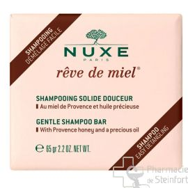 NUXE Reve de Miel SHAMPOOING SOLIDE DOUCEUR 65G