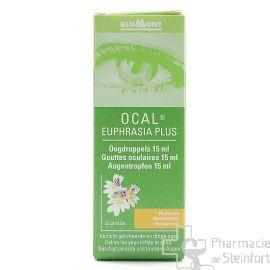 OCAL EUPHRASIA PLUS GOUTTES OCULAIRES 15 ML