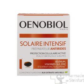 OENOBIOL SOLAIRE INTENSIF ANTI-AGE anti rides 30 CAPSULES