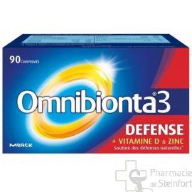 OMNIBIONTA 3 DEFENSE 90 COMPRIMES