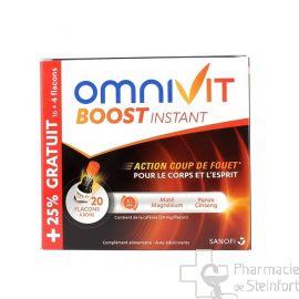 OMNIVIT BOOST INSTANT FLACONS 20x 15 ML