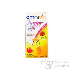 OMNIVIT JUNIOR GUMMIES 90 MG 30 GUMMIES
