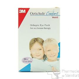 OPTICLUDE JUNIOR 20 PANSEMENTS OPHTALMIQUES CACHE OEIL