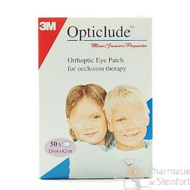 OPTICLUDE JUNIOR 50 PANSEMENTS OPHTALMIQUES CACHE OEIL
