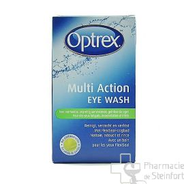 OPTREX BAIN OCULAIRE MULTI ACTION EYE WASH YEUX FATIGUES+ IRRITES 100 ML