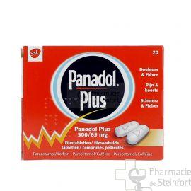 PANADOL PLUS 20 COMPRIMES
