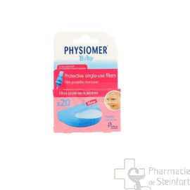 PHYSIOMER BABY FILTRES  20 PIECES