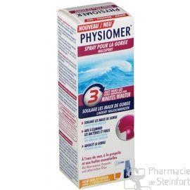 PHYSIOMER SPRAY MAL DE GORGE 20 ML