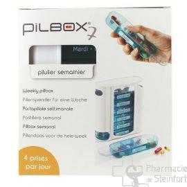 PILBOX 7 HEBDOMADAIRE 4 Prises