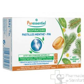PURES RESPIRA PASTILLE MENTHE PIN 18PAST