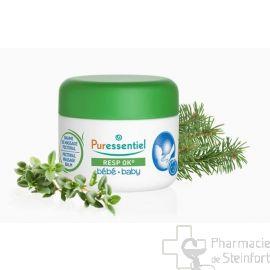 PURESSENTIEL RESPIRATOIRE OK BAUME MASSAGE PECTORAL BEBE 30 ML