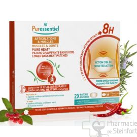 PURESSENTIEL ARTICULATION PATCH LOMBAIRE Pure Heat® Articulations & Muscles