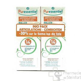 PURESSENTIEL ARTICULATION DUO PACK ROLLER 2 X 75 ML 2ème - 50%