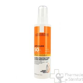 ROCHE POSAY ANTHELIOS SOLAIRE SPRAY INVISIBLE SPF50+ 200ML