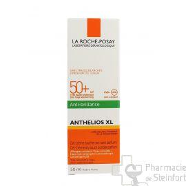 ROCHE POSAY ANTHELIOS DRY TOUCH GEL-CRÈME TOUCHER SEC  ANTI-BRILLANCE spF50+ 50 ML