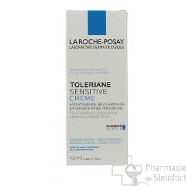 ROCHE POSAY TOLERIANE SENSITIVE CREME hydratant apaisant protecteur 40 ML