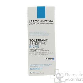 ROCHE POSAY TOLERIANE SENSITIVE RICHE hydratant apaisant protecteur 40 ML