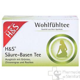 H+S WOHLFUEHLTEE Säuren-Basen-Tee  20 SACHETS NR97