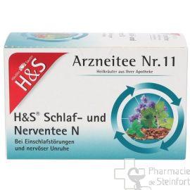 H+S Schlaf- und Nerventee 20 SACHETS N°11