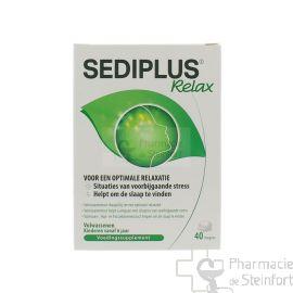 SEDIPLUS RELAX ANTI STRESS 40 DRAGEES