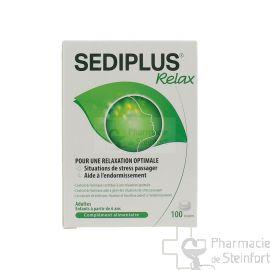 SEDIPLUS RELAX ANTI STRESS 100 DRAGEES