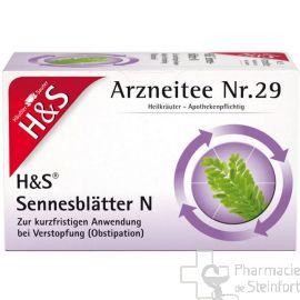 H+S Sennesblätter 20 SACHETS NR29