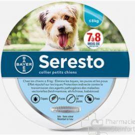 SERESTO DOG 1,25G+0,56G COLLIER VETERINAIRE Anti parasite