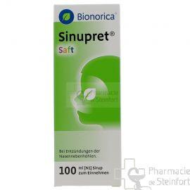 SINUPRET BIONORICA SAFT SIROP 100 ML