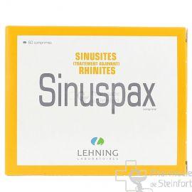 SINUSPAX SINUSITES RHINITES LEHNING 60 COMPRIMES