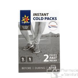 STAR BALM FAST COLD PACK ANTI DOULEUR  2 COMPRESSES