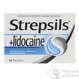 STREPSILS LIDOCAINE 36 PASTILLES