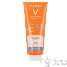 VICHY CAPITAL SOLEIL BEACH PROTECT LAIT hydratant fraîcheur SPF50+ 300ML