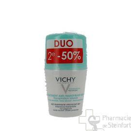 VICHY DEO TRAITEMENT ANTI-TRANSPIRANT 48H - ROLL-ON DUO 2x 50 ML