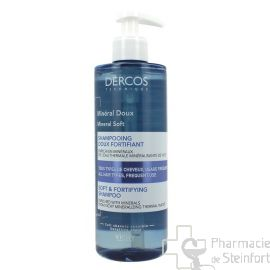 DERCOS MINERAL DOUX SHAMPOOING DOUX FORTIFIANT 400 ML