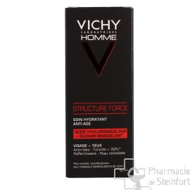 VICHY HOM STRUCTURE FORCE Soin hydratant anti age 50 ML