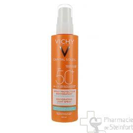 VICHY CAPITAL SOLAIRE BEACH PROTECT SP50 SPRAY anti-déshydratation 200ML