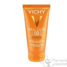 VICHY CAPITAL SOLEIL EMULSION ANTI-BRILLANCE TOUCHER SEC SPF50 50ML