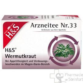 H+S Absinthe 20 SACHETS NR33