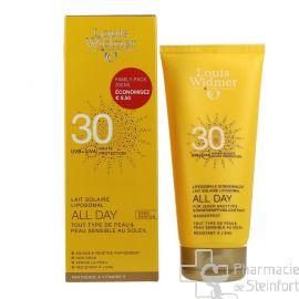 WIDMER ALL DAY Lait Solaire SPF30 200 ML Sans Parfum VEGAN