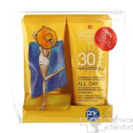 WIDMER ALL DAY Lait Solaire SPF30 DUO 2x100 ML sans parfum VEGAN