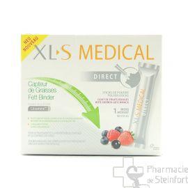 XLS MEDICAL CAPTEUR GRAISSES 90 STICKS