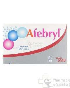 AFEBRYL 32 COMPRIMES EFFERVESCENTS