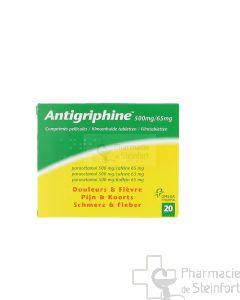 ANTIGRIPHINE 20 COMPRIMES
