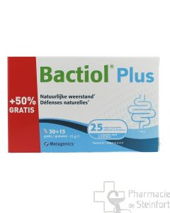 BACTIOL PROBACTIOL PLUS 30+15 CAPS