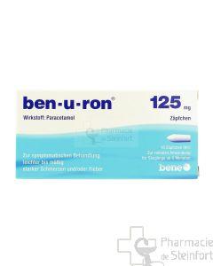 BENURON 125 MG 10 SUPPOSITOIRES