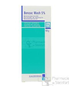 BENZAC WASH 5 % 100 G