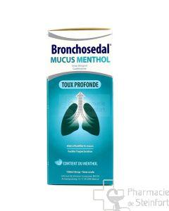 BRONCHOSEDAL MUCUS MENTHOL 20 MG/ML SIROP 150 ML