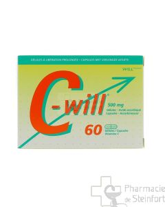 C WILL 500 MG 60 CAPSULES