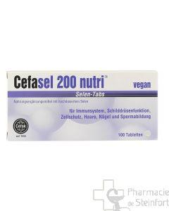 CEFASEL 200 NUTRI SELEN 100 TABLETTES
